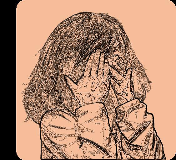 enfant avec troubles dys qui pleure