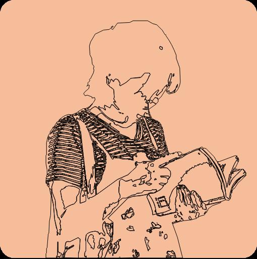 enfant dyslexique en lecture