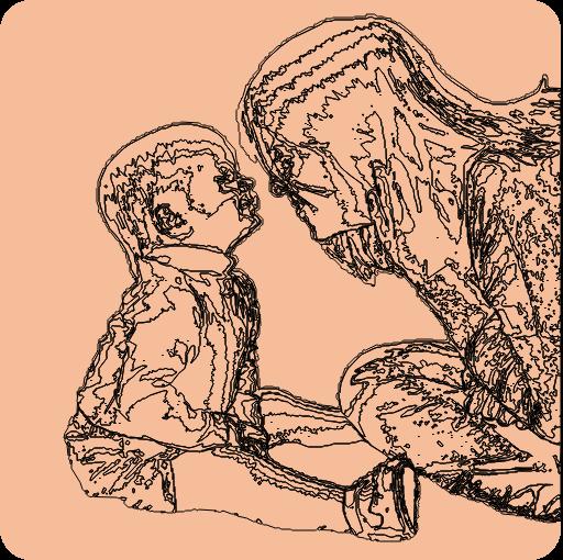 enfant avec troubles dys qui écrit