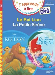 le roi lion - livre pour dyslexique