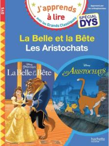 les aristochats - livre pour dyslexique